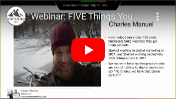 Webinar- FIVE Things You Need To Have Your Developer Change On Your Site TODAY