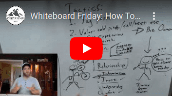 Whitebaoard Friday- How To Build a Referral NETWORK